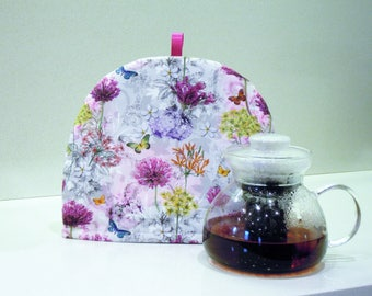Teapot warmer- Tea pot padded cover - Tea cosy - Tea warmer - Handmade padded tea cozy - Tea party - Gift idea - Valentine's day