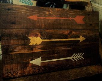 Large Custom Wood Sign