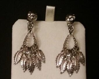 Native American feather headdress earings