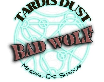 TARDIS DUST *Bad Wolf* Doctor Who Inspired Loose Mineral Eye Shadow - Rose Tyler Rosy Pink