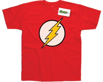 The Flash Inspired by Sheldon Cooper Big Bang Theory T-Shirt