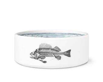 Fish Bone Pet Bowl