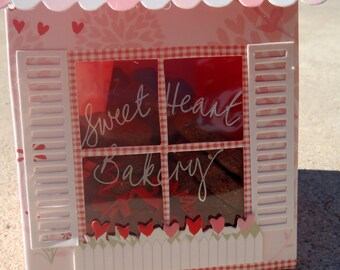 Gourmet Dog Treats - Sweetheart Valentine Tote - Vegetarian All Natural Gift Boxed Valentines Day - Shorty's Gourmet Treats