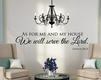 Scripture Wall Decal Etsy - Wall decals bible verses