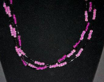 Triple-Strand Necklaces