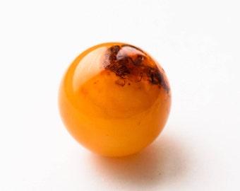 16g. Natural baltic amber ball
