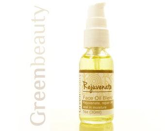 Face oil blend, 1oz, natural facial moisturizer, anti-aging serum, face serum, facial serum, face oil serum, face oil, facial beauty oil