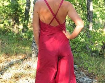 Combi short silk