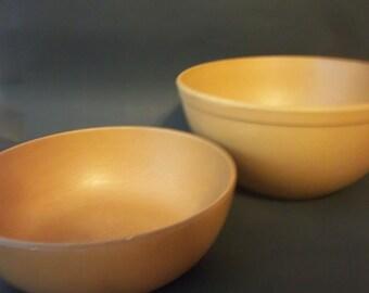 Ellingers Agatized Wood Inc. Serving Bowls Set of 2