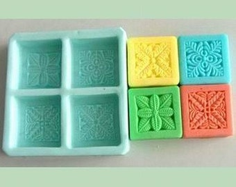 Oblong Flexible Silicone Mold Silicone Mould Candy Mold Chocolate Mold Soap Mold Polymer Clay Mold Resin Mold R0088