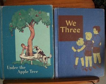 Under the Apple Tree ,  We Three , Books, Childrens Readers