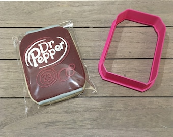 Soda Can / Pop Can / Beer Can Cookie Cutter