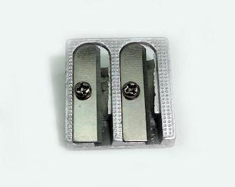 Metal Pencil Sharpener - Double hole
