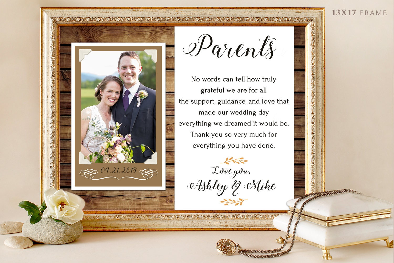 Elternteil Hochzeit Eltern danke Geschenk Eltern Hochzeit