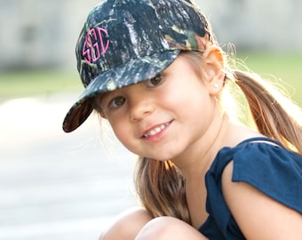 Woods monogrammed Youth Cap - Preppy and cute...