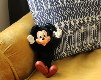 Vintage Mickey Mouse Plush Toy