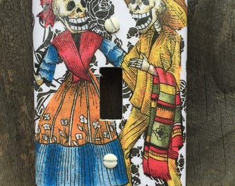 Single Switch Plate Cover Skeletons #161