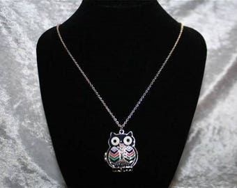 OWL chain necklace