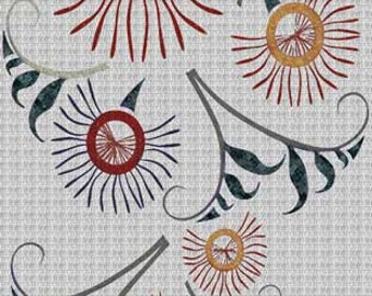 Japanese Mural Mosaic Decor