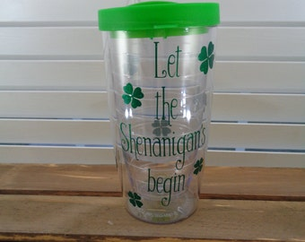 Monogrammed / Customized 16 oz. Double Wall Pacific Acrylic Tumbler / Cup / Beverage Glass