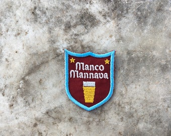 Manco mannava Sew On Patch