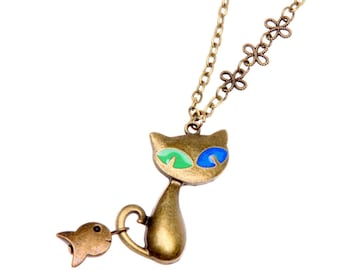 Necklace cat