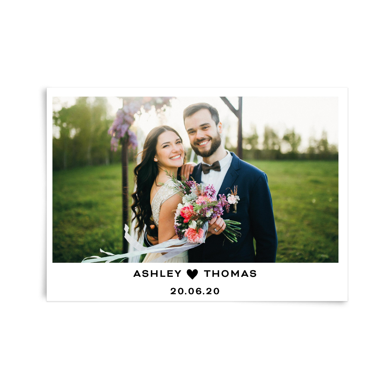 personalised wedding thank you card custom photo thank you card wedding thank you card template photo thank you flat card stationary set - Custom Wedding Thank You Cards