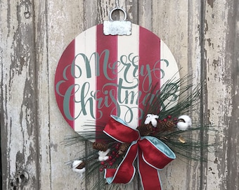 Christmas Door hanger, Merry Christmas Sign, Christmas door sign, Christmas door, Christmas door Decor, Christmas door Decoration