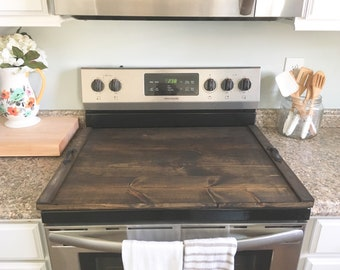 Stove Top Cover Plain, Wooden Stove Cover, Stove Cover, Wooden Tray For Stove Top, Stove Cover Tray, Wood Stove Tray, Counter Extension Wood