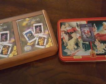 Vintage card decks