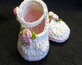 Roses Mary Jane shoes