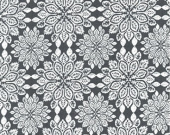 Michael Miller Quilt Fabric It's a Girl Thing - Wood Cuts Charcoal - CX5248