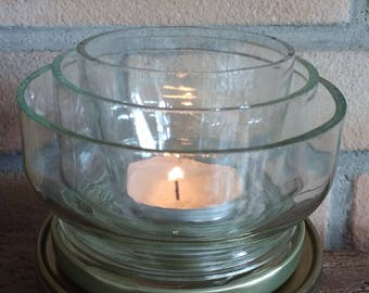 Candle: water lily