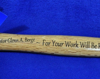 Gift For Pastor ~ Gift For Clergy ~ Gift For Priest ~ Hammer ~ Christian Gift ~ Bible Verse ~ Minister Gifts ~ Youth Pastor Gifts ~ Jesus