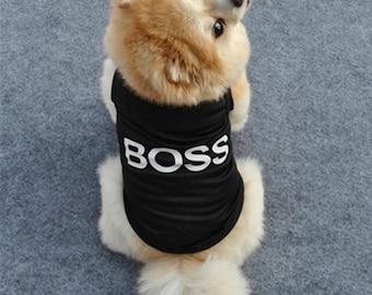 BOSS dog clothing