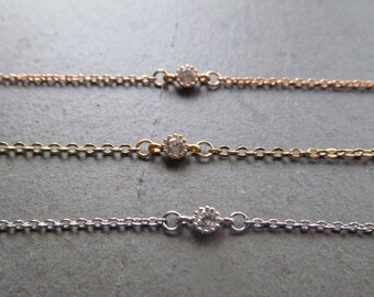 dainty choker necklace, gold choker necklace, silver choker, rose gold choker, thin choker, delicate choker necklace, dainty gold choker,