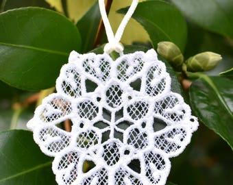 Star Snowflake Ornament