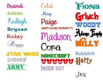 Name Decal - Yeti Cup Decal - Personalized Name Decal - Yeti Sticker