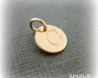 Initial Charm. Personalized Initial Charm. Gold Initial Charm