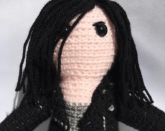 Jessica Jones Crochet Doll