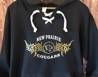 New Prairie Cougars Hooded Sweatshirt Spirit Wear