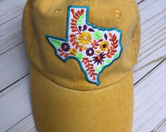 TX embroidered cap
