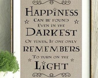 Harry Potter, Dumbledore,Harry Potter Gift, Harry Potter Quote, J.K.Rowling Quote,Harry Potter Decor, Kids Gift, Book Quote, Harry Potter