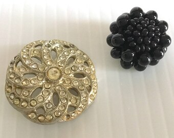 Vintage Jewel Buttons '60s.