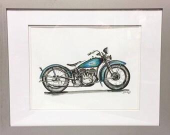 Dessin de Harley Watercolor