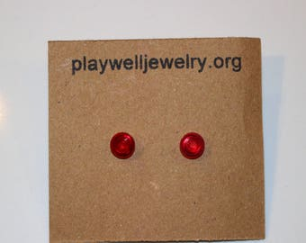 Play Well stud earrings