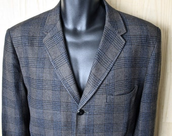 Ivy Style Braveheart Plaid Tweed Sport Jacket/ Men's Vintage Tweed Blazer/ 3 Button Jacket/ Men's Size 42 bwq5LakUM