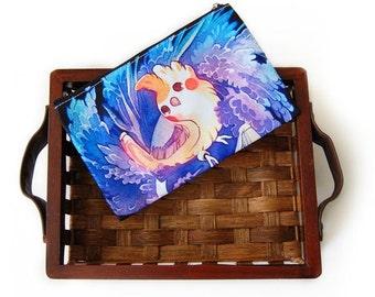 Cockatiel or Cockatoo Bird Zipper Bag