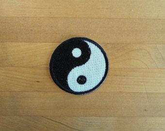 Ying yang patch   Etsy