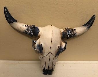 ON SALE, SPRING Sale Cow Skull, Cow Head, Western Decor, Home and Garden Decor, Wall Decor, Cow Decor, Cow Wall Decor